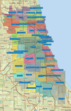 RealZips GeoData - Chicago Illinois Neighborhoods - by Zip