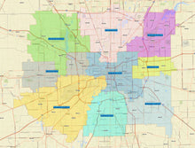 RealZips GeoData - Indianapolis Indiana Neighborhoods - by Zip