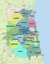 RealZips GeoData - Jacksonville Florida Neighborhoods - by Zip