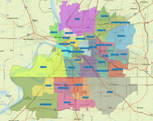 RealZips GeoData - Memphis Tennessee Neighborhoods - by Zip