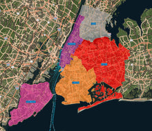 RealZips GeoData - New York City Boroughs and Neighborhoods - by Zip
