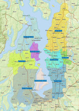 RealZips GeoData - Seattle Washington Neighborhoods - by Zip