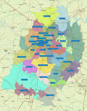 RealZips GeoData - Nashville Tennessee Neighborhoods - by Zip