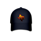 Texas Baseball Cap - navy