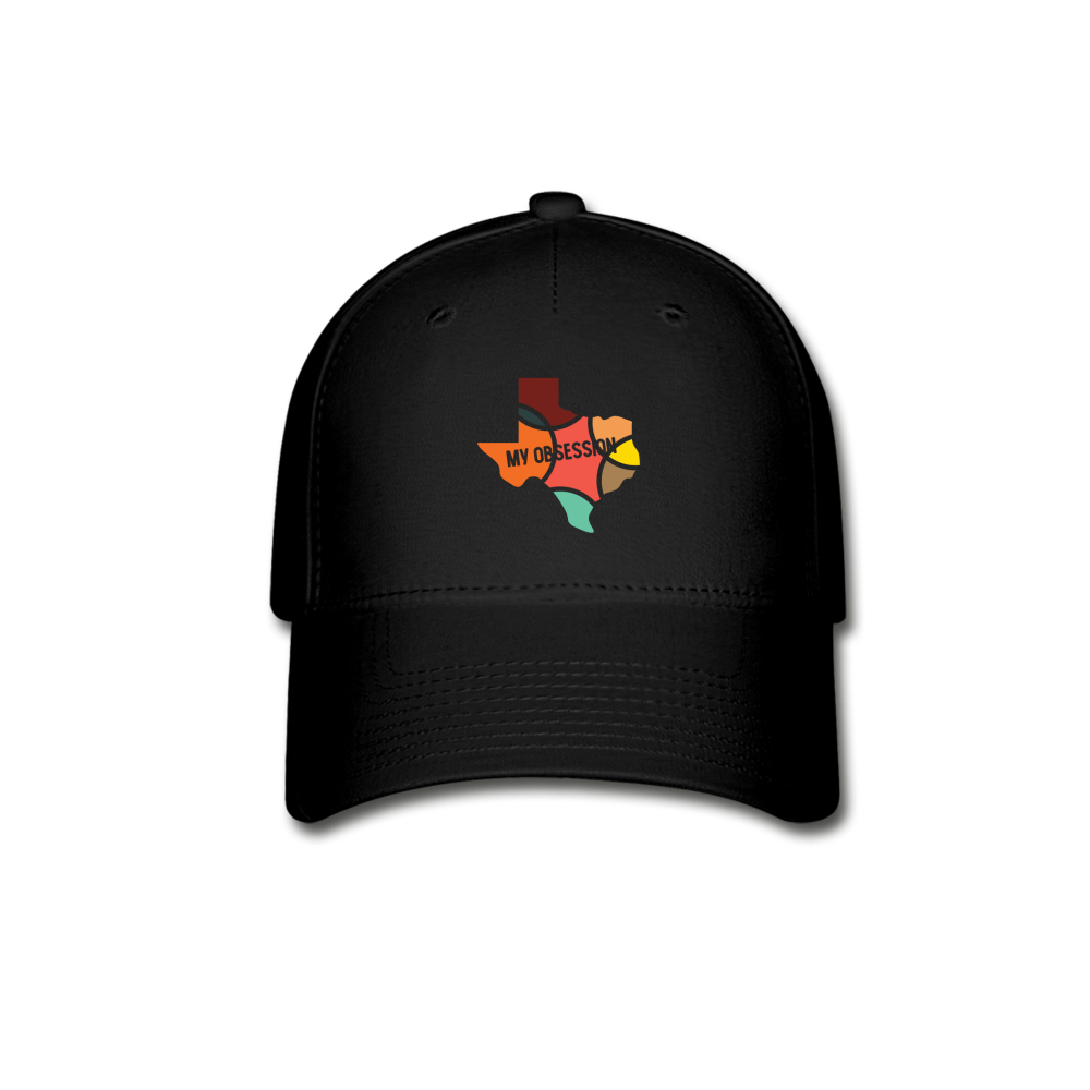Texas My Obsession Baseball Cap - black