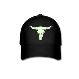 Long Horn Texmania Baseball Cap - black
