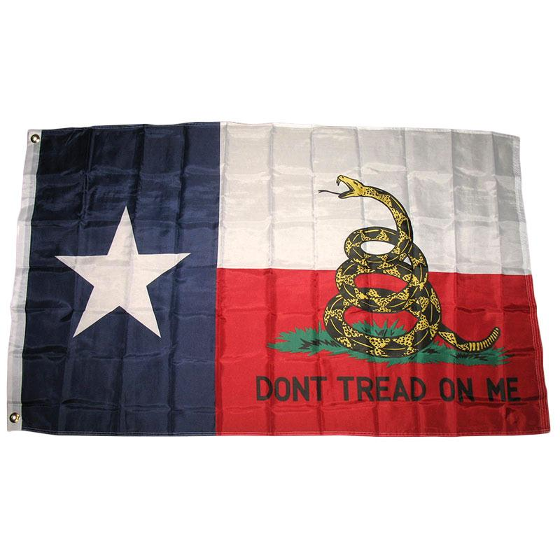 Texas Don't Tread on Me Flag