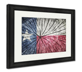 Framed Print, Flag Of Texas