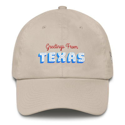 Greetings From Texas Dad Hat