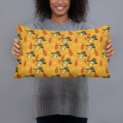 Texan Cowboy All-Over Print Pillow Case