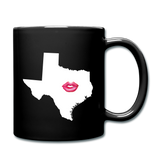 Texas Kiss  Mug - black