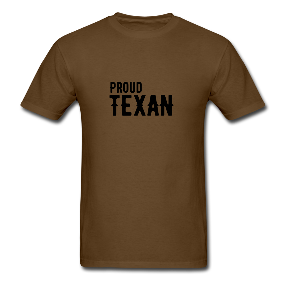 Proud Texan T-Shirt - brown