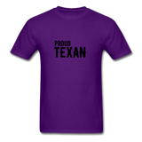 Proud Texan T-Shirt - purple