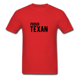 Proud Texan T-Shirt - red