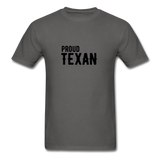 Proud Texan T-Shirt - charcoal