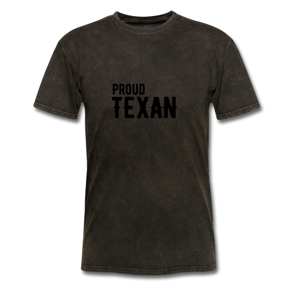 Proud Texan T-Shirt - mineral black