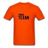 Proud Texan T-Shirt - orange