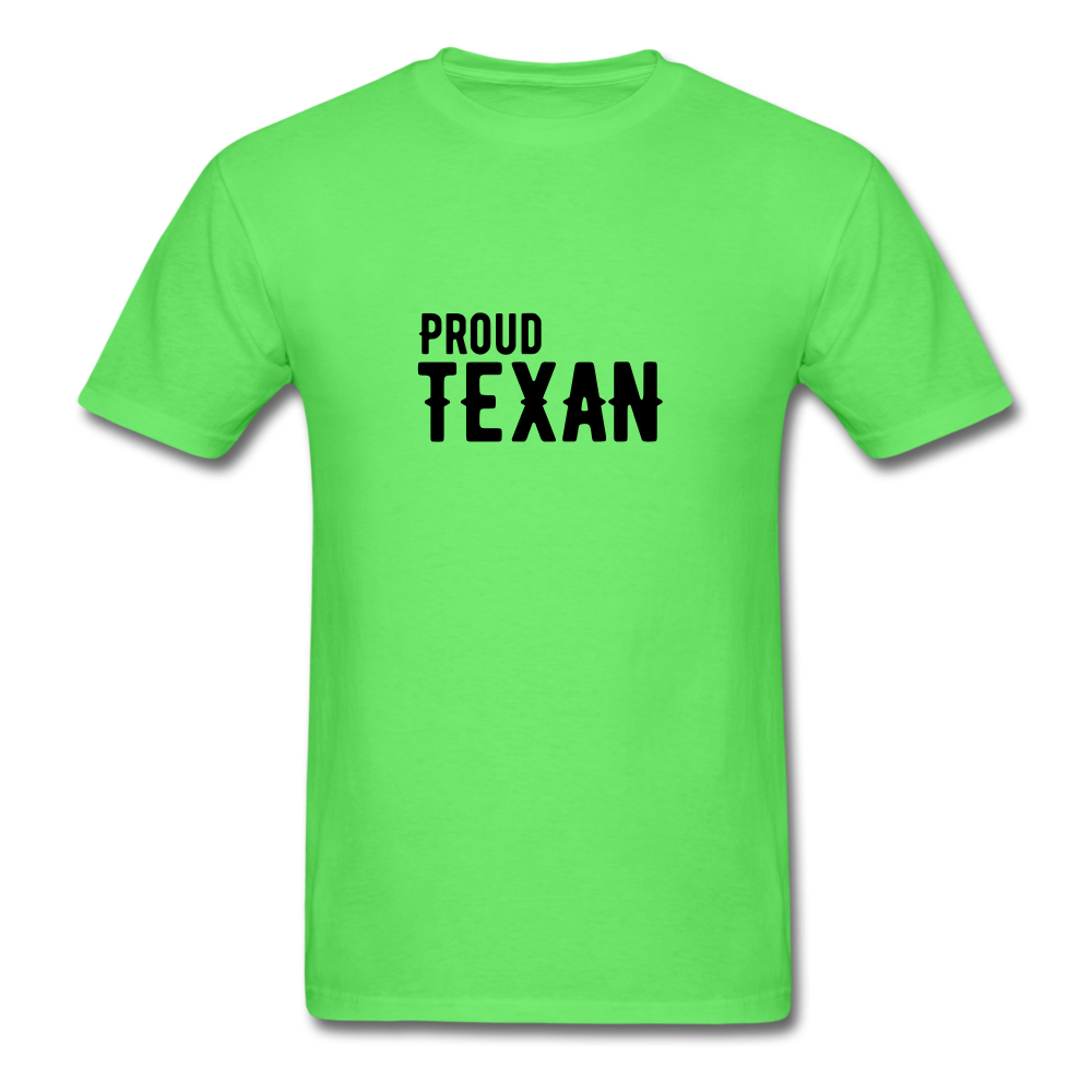 Proud Texan T-Shirt - kiwi
