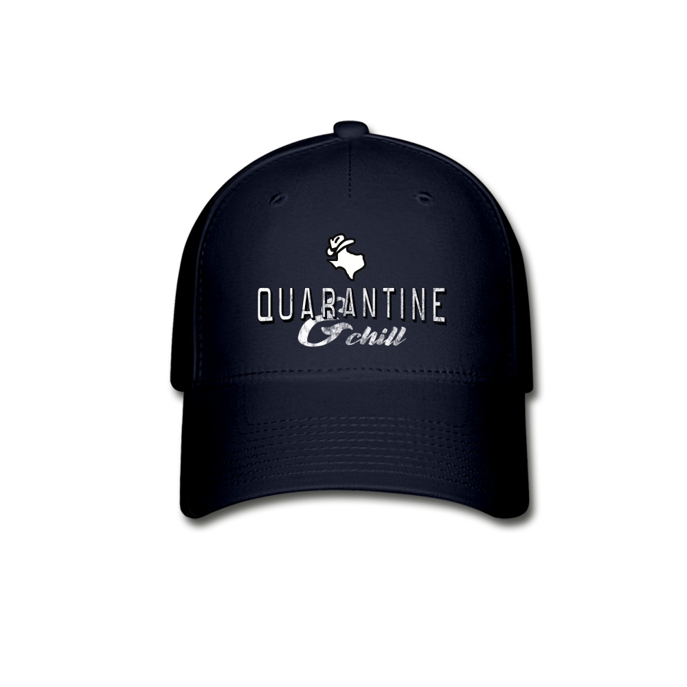Quarantine & Chill Baseball Cap - navy