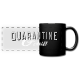 Quarantine & Chill Panoramic Mug - black