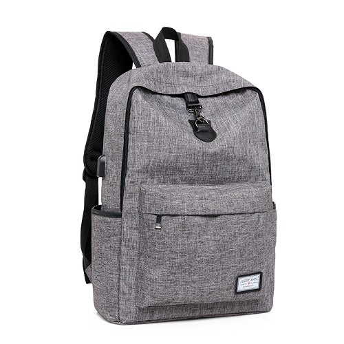 Lightweight Backpack w/ USB Charging