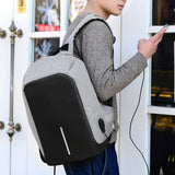 Hard Shell Backpack w/ USB Charging