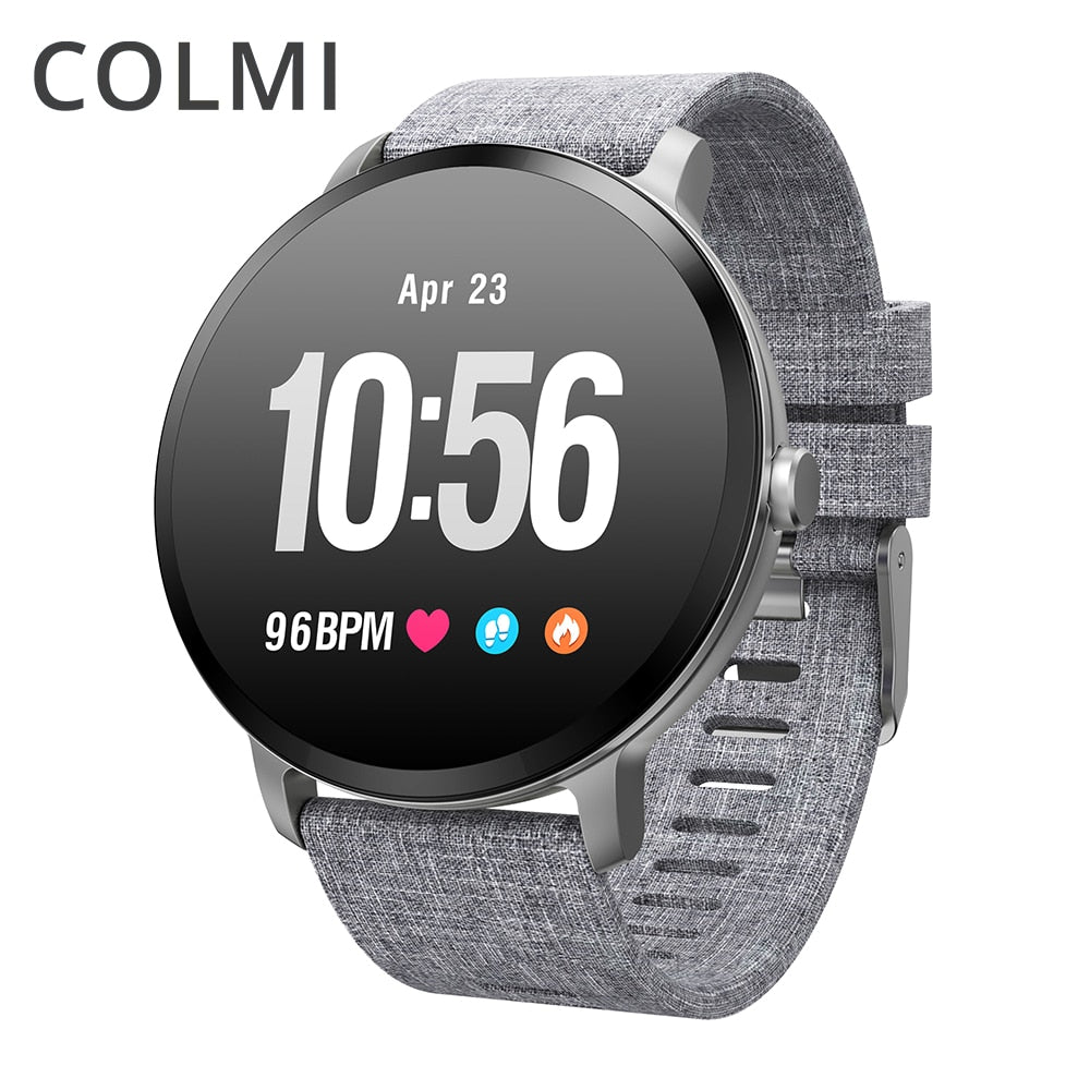 COLMI V11 Smart watch IP67 waterproof Tempered glass Activity Fitness tracker Heart rate monitor BRIM Men women smartwatch - Tebo Tech