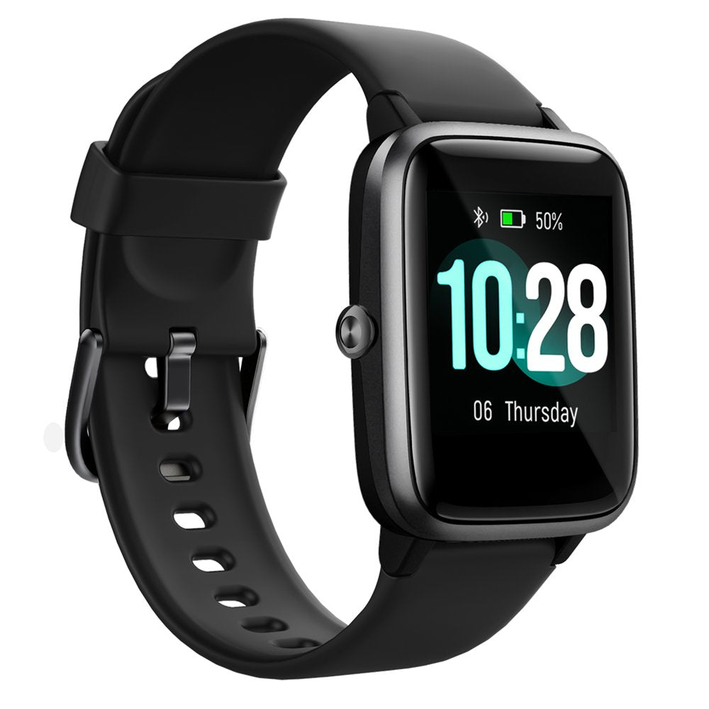2020 Newest Smart Watch for Android and iOS Phones, Fitness Tracker Health Tracker Heart Rate Monitor Sleep Tracker, IP68 Waterproof Smartwatch for Women Men Kids, Black/Pink - Walmart.com -