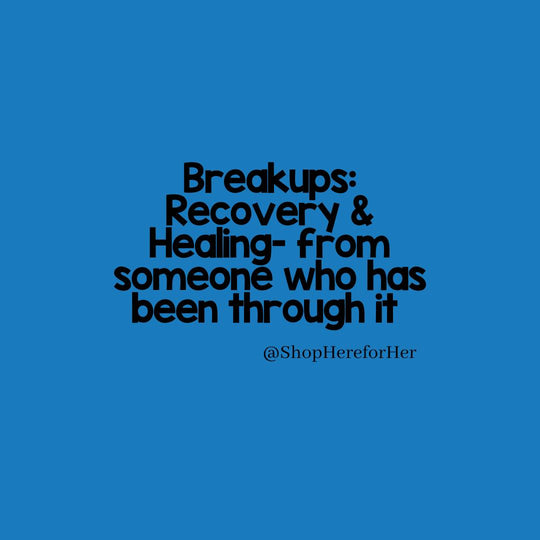 On healing and recovering after a break-up