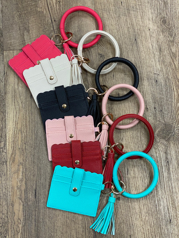 Key Chain Card Holder