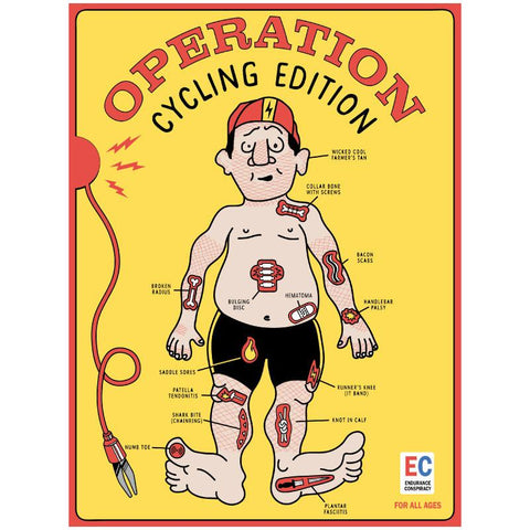 Operation - The Cycling Edition Poster