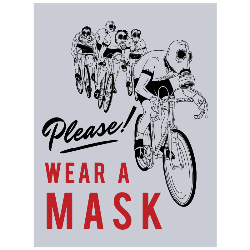 Please Wear a Mask Small Poster