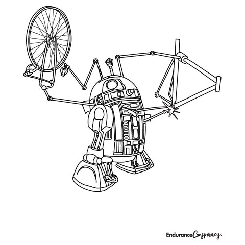 Bike Mech Droid Coloring Project - EC17
