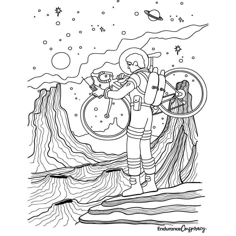 EC Spacewalk Coloring Project - EC17