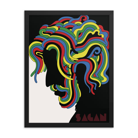 Sagan Framed poster