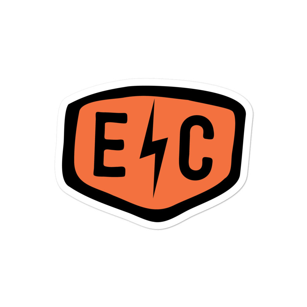 EC Badge Sticker - EC17