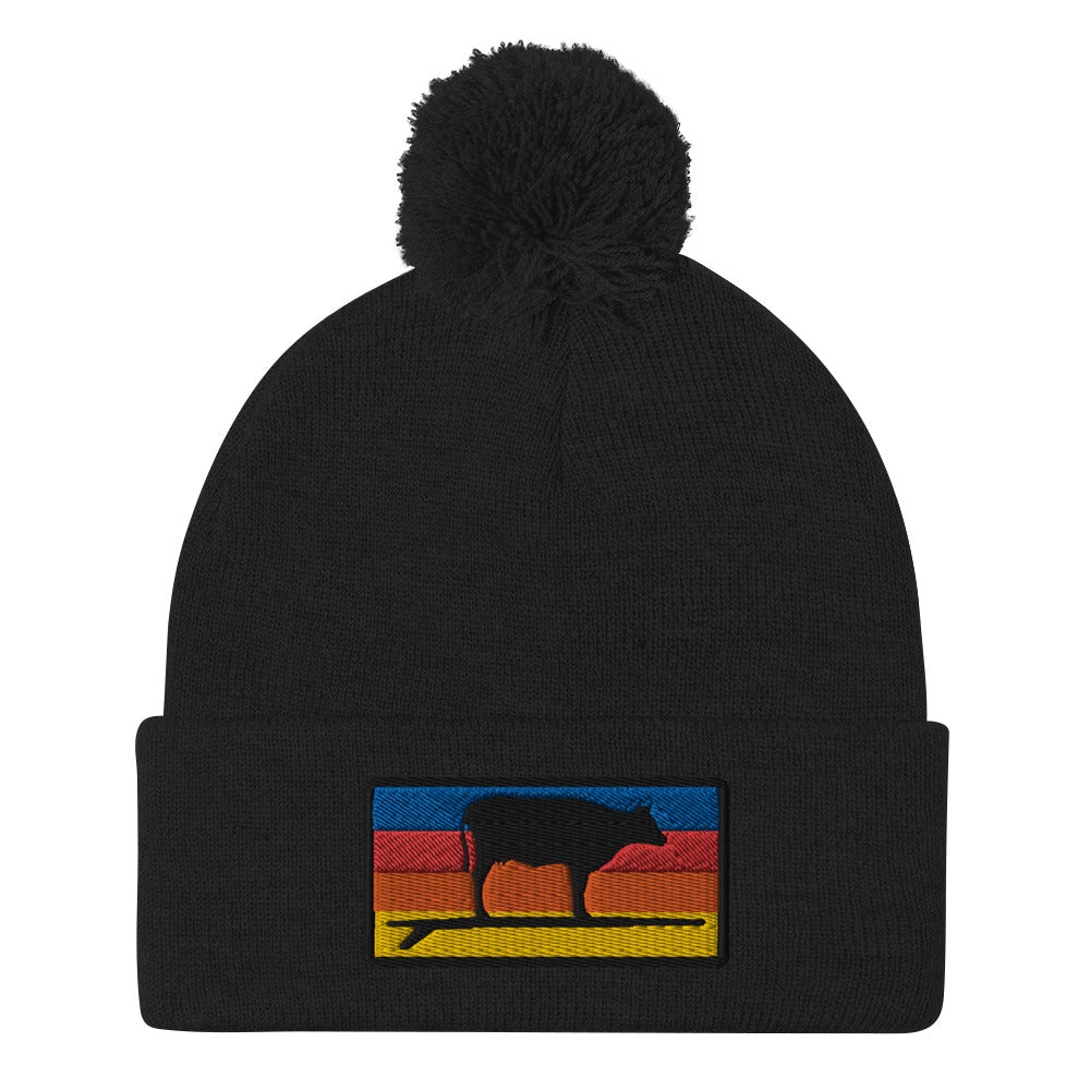Surf & Turf Sunrise Beanie