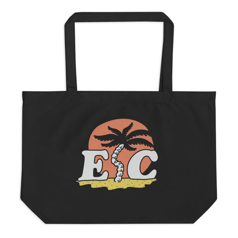 EC Palm Tote - Phantom Black - EC17