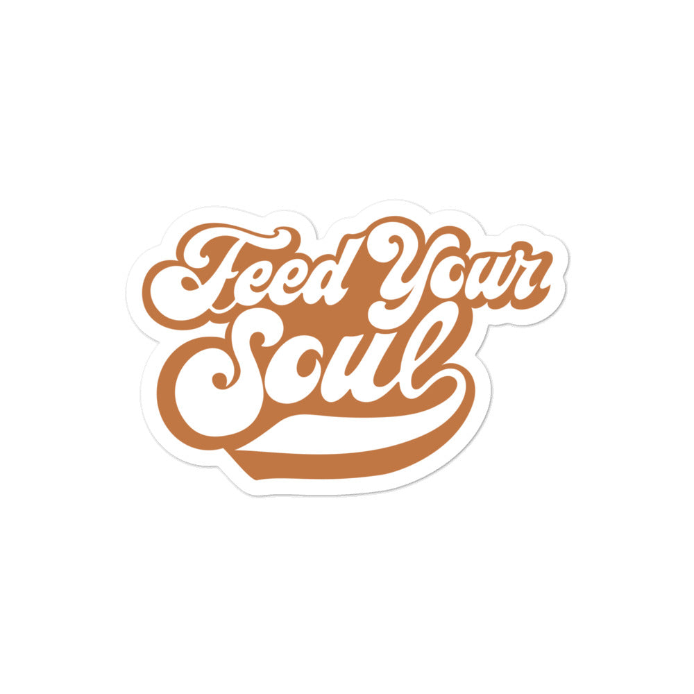 Feed Your Soul Sticker - EC17