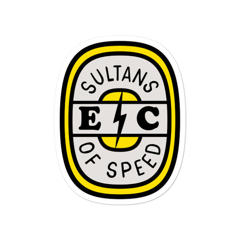 Sultans of Speed Sticker - EC17