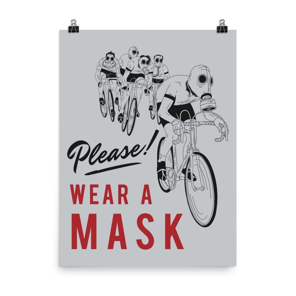 Please Wear a Mask Poster