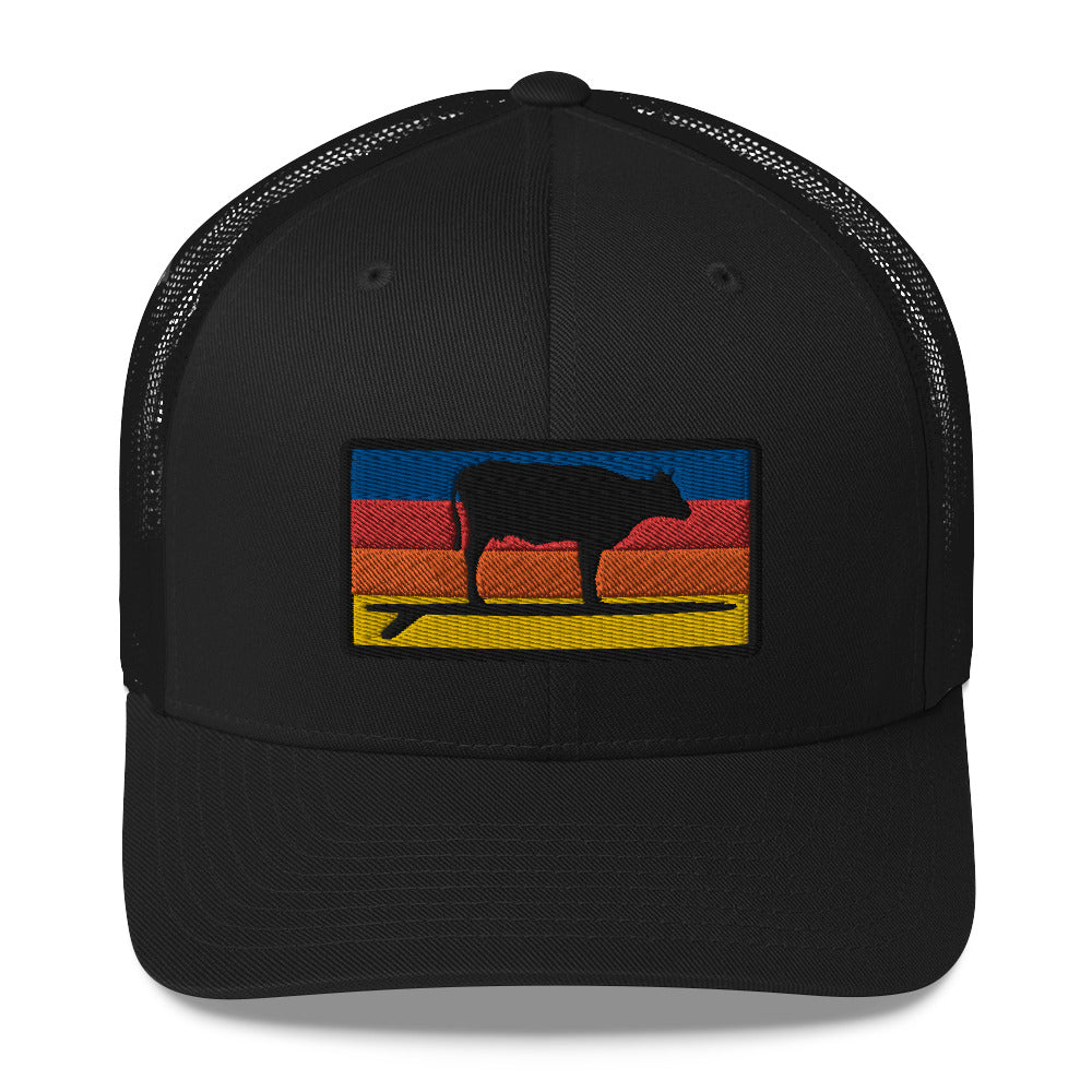 Surf & Turf Sunrise Trucker - EC17