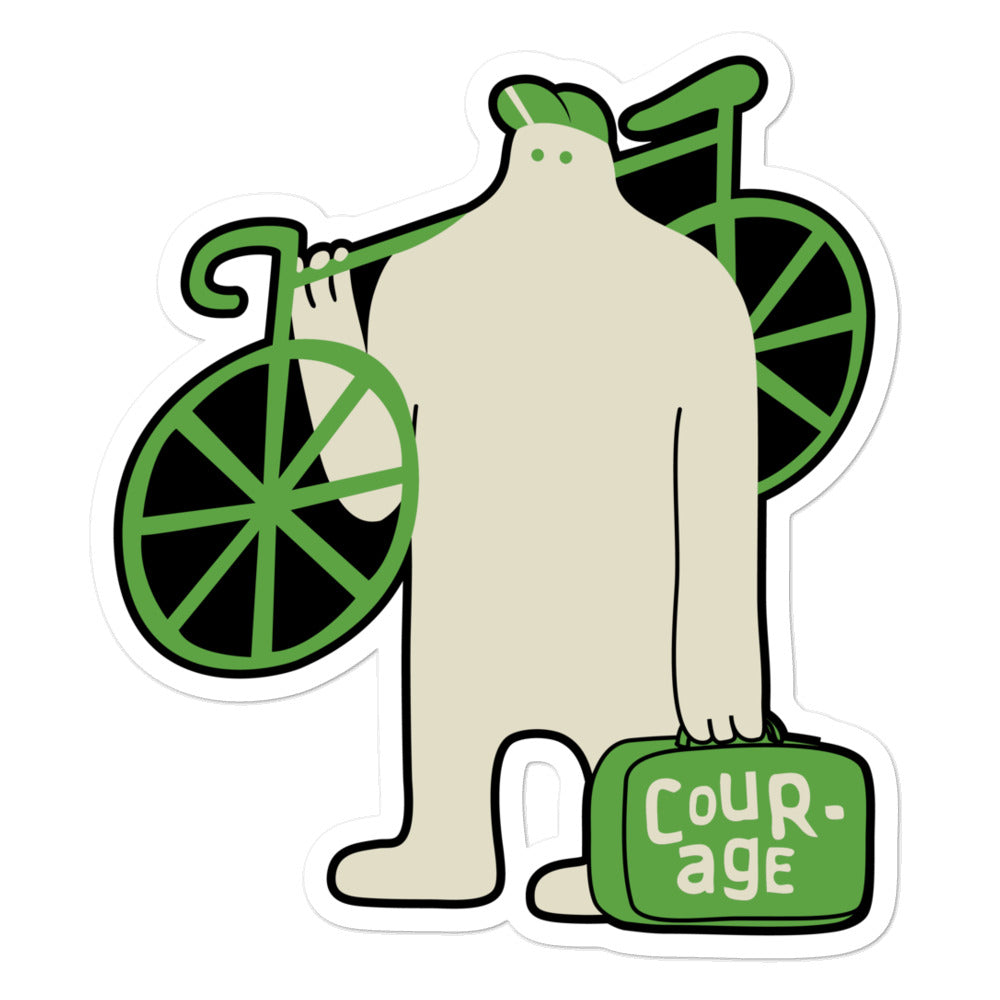 Suitcase of Courage Sticker - EC17