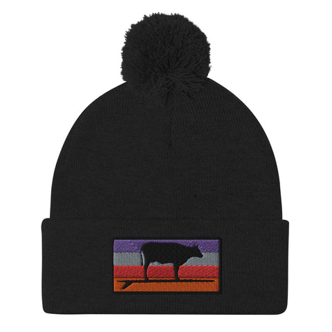 Surf & Turf Sunset Beanie