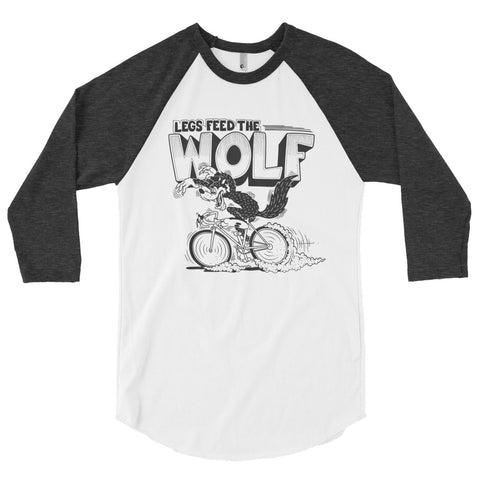 Legs Feed the Wolf Raglan - EC17