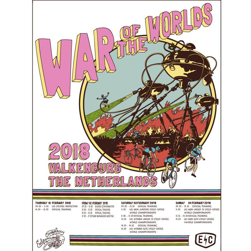 War of the Worlds Poster - EC17