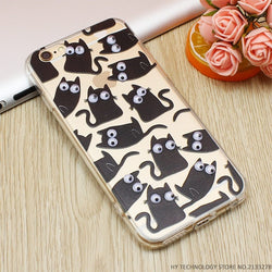 Black Cat Graphic Phone Case