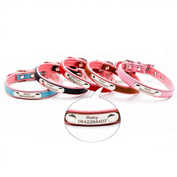 Personalized Cat ID Collar