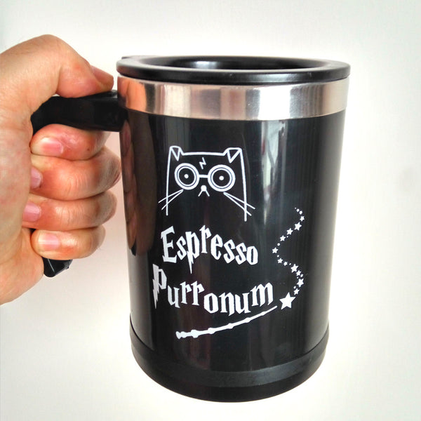 Magic Cat Self Stirring Mug