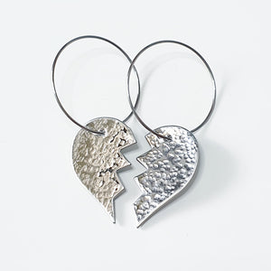 Get Hammered Heartbreaker earrings (limited edition)